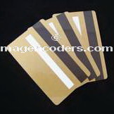 gold magnetic stripe cards, pvc cards, blank credit cards, gold cards